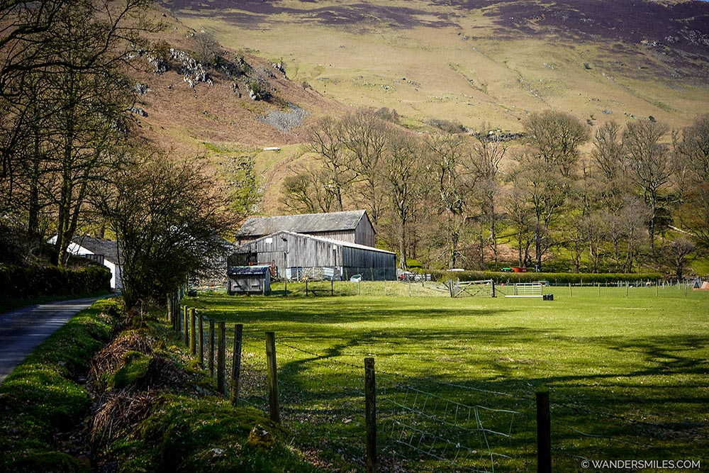 Hollow Farm in Borrowdale