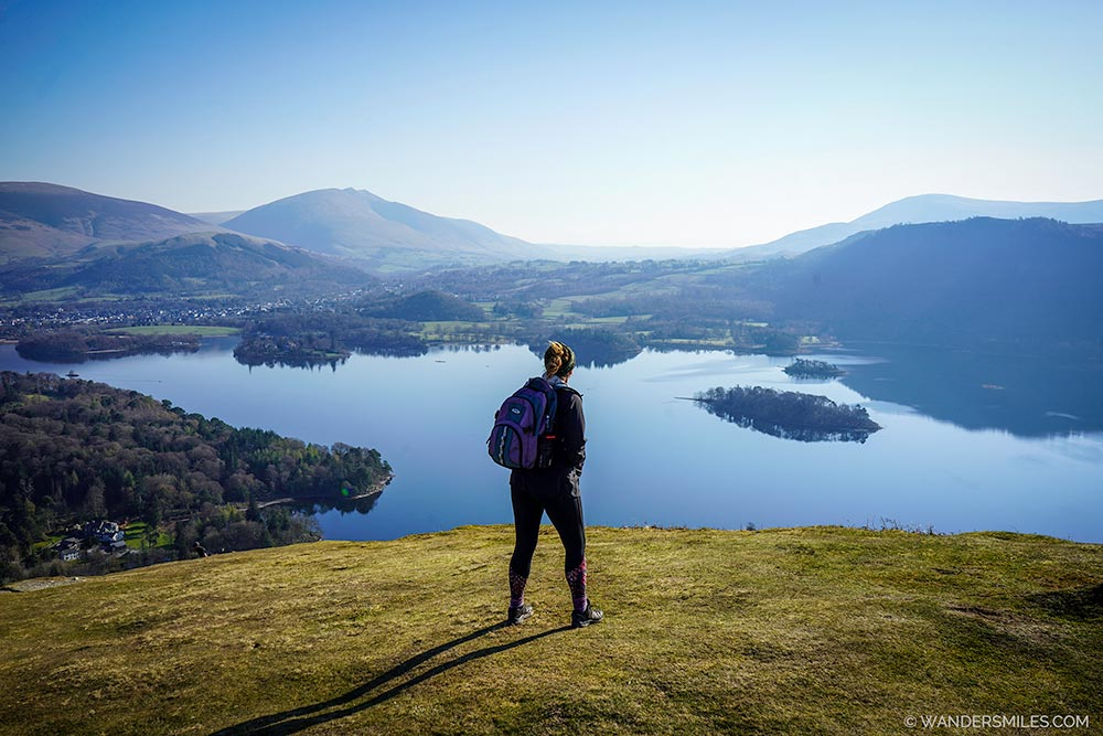 Views of Derwentwater from Skelgill Bank