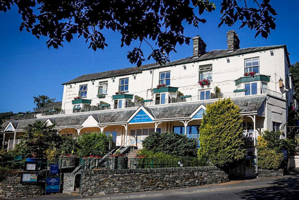 Pool at Ambleside Salutation Hotel - Eco-friendly hotel in the Lake District