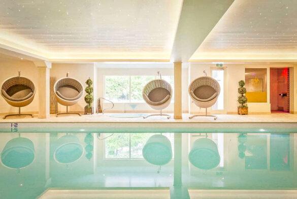 Pool at Ambleside Salutation Hotel, Lake District