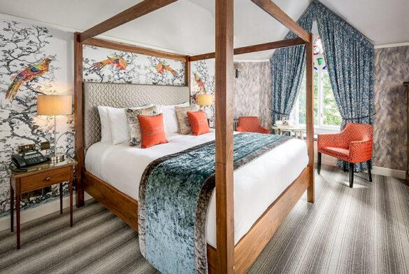 Bedroom at Cedar Manor Hotel in Windermere