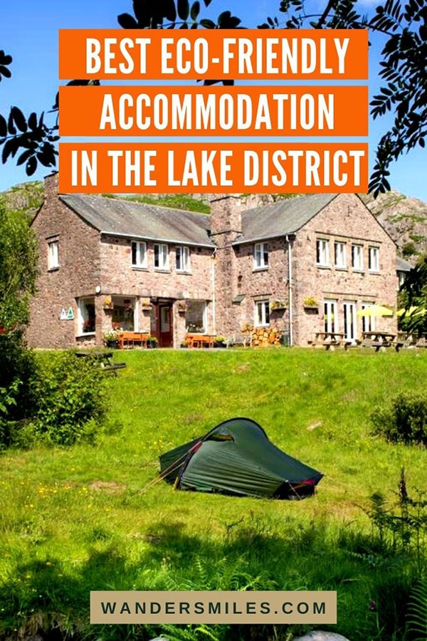 Find the best sustainable hotels and eco-friendly accommodation in the Lake District, United Kingdom