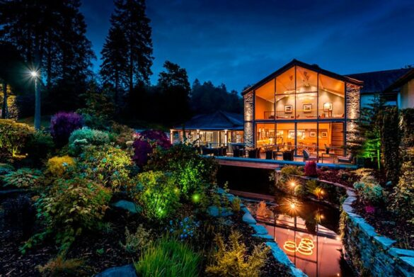 Restaurant at Langdale Hotel in Ambleside in the Lake District