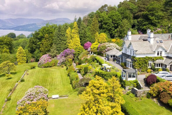 Lindeth Fell Country House - Eco-friendly hotel in the Lake District