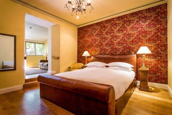 Bedroom at Moss Grove Organic, Lake District