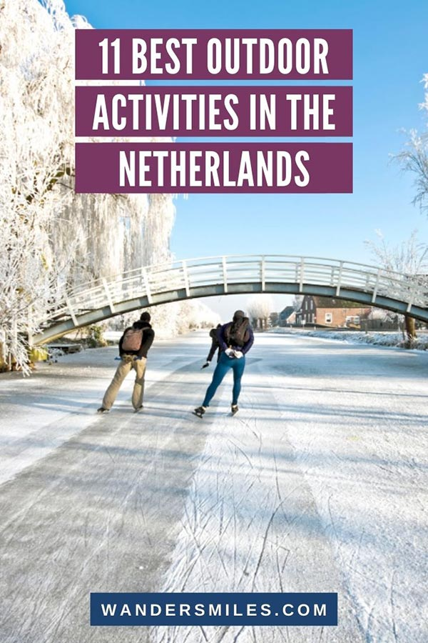Guide to the best adventures and outdoor activities in the Netherlands | Blog by Ask The Dutch Guy on Wanders Miles