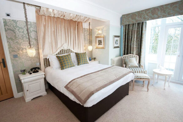Bedroom at The Wild Boar, Windermere