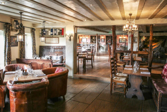 Smokehouse Restaurant at The Wild Boar, Windermere, Lake District
