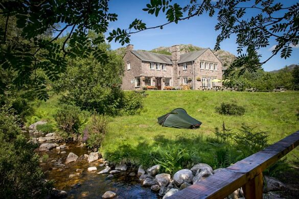 Camping at YHA Eskdale Hostel - Eco-friendly hostel in the Lake District
