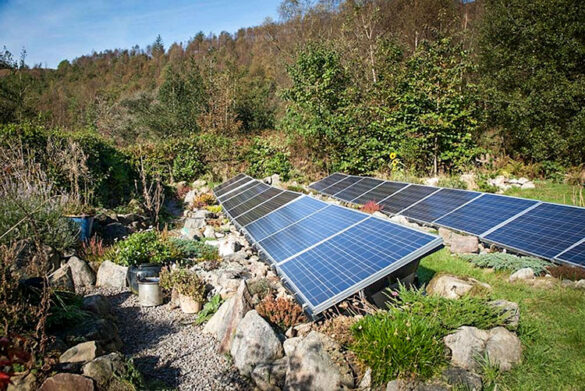 Camping at YHA Eskdale Hostel - Eco-friendly hostel in the Lake District with renewable energy from biomass and solar panels