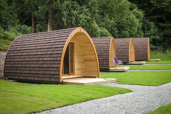 Glamping at YHA Hawkshead - Eco-friendly hostel in the Lake District