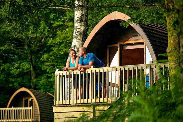 Glamping at Park Cliffe Camping & Caravan Estate, Windermere