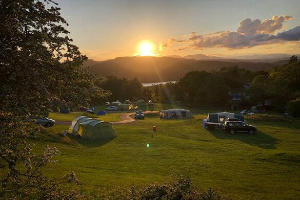 Fellside Camping at Park Cliffe Camping & Caravan Estate, Windermere