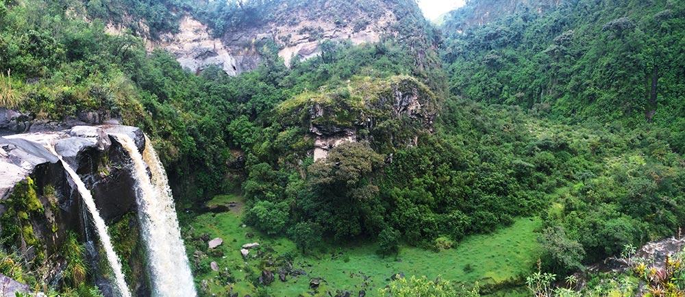 Mindo Zipline in Ecuador