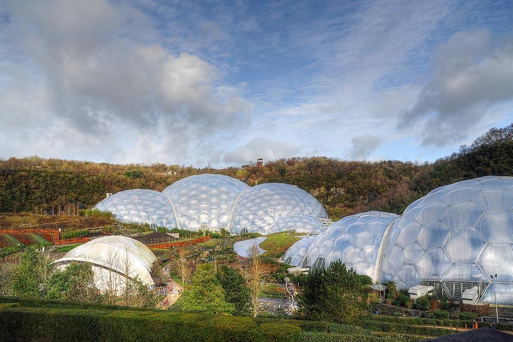 Eden Project Zipline in Cornwall, England