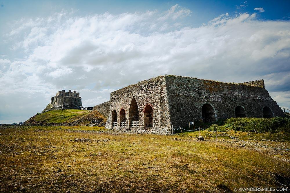 Castle Point Lime Kilns on Holy Island, Northumberland