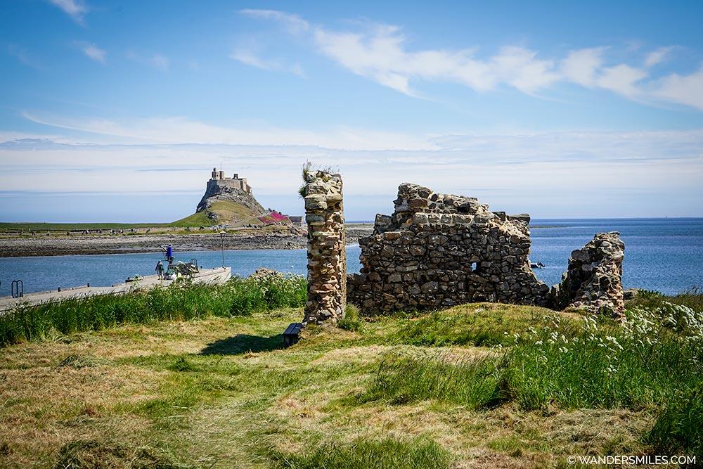 Osbourne's Fort on the Heugh, Holy Island, Northumbria