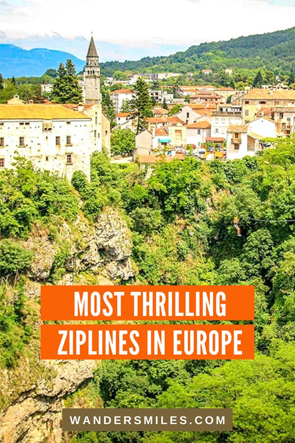 Discover the most thrilling ziplines in Europe