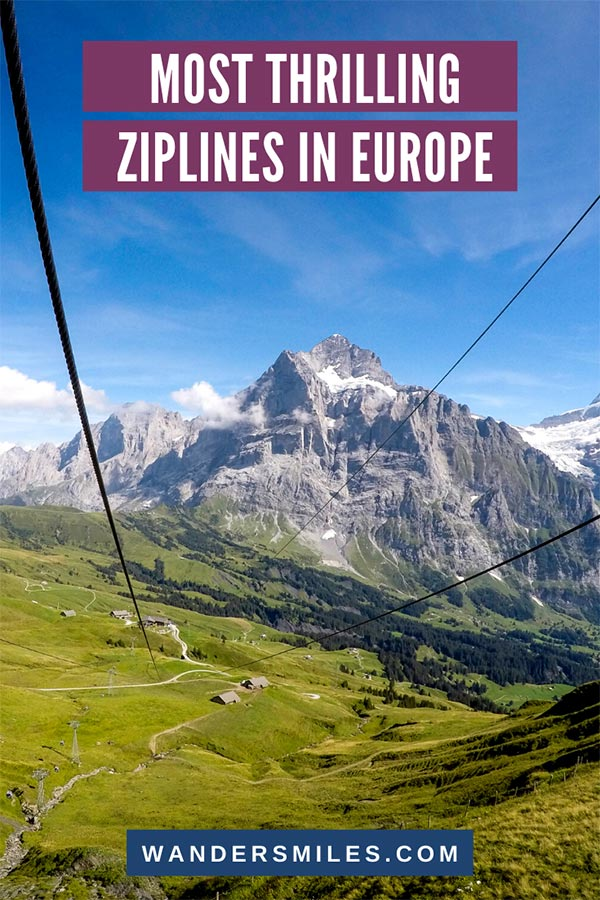 Try the most epic and thrilling ziplines in Europe