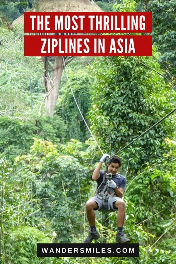 Discover the most thrilling ziplines in Asia – Southeast Asia, Malaysia, South Asia