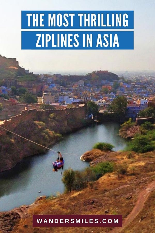 Fly on most thrilling ziplines in Asia