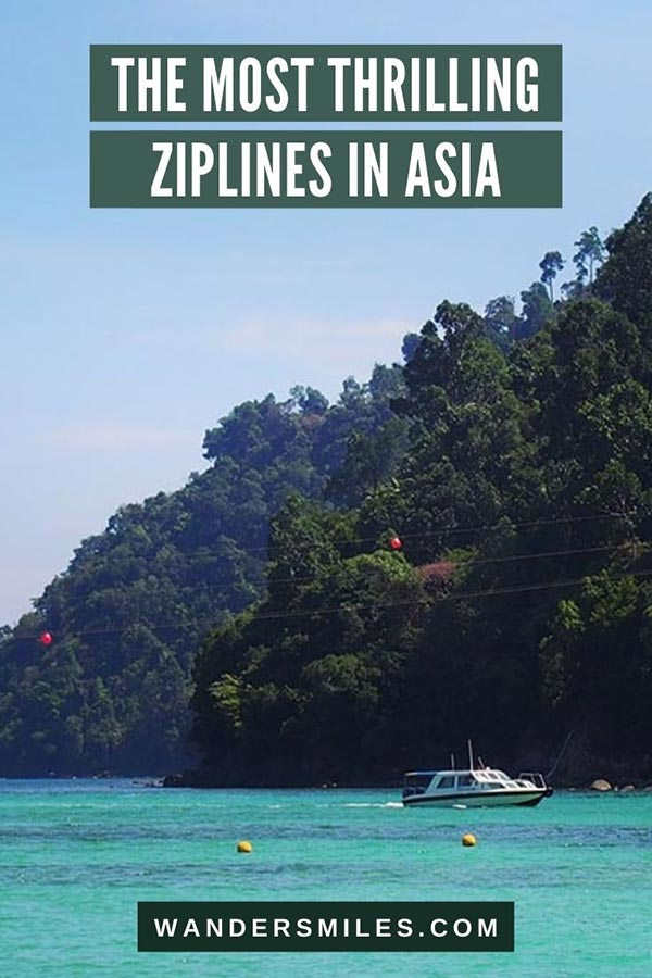 Discover the best and most thrilling ziplines in Asia