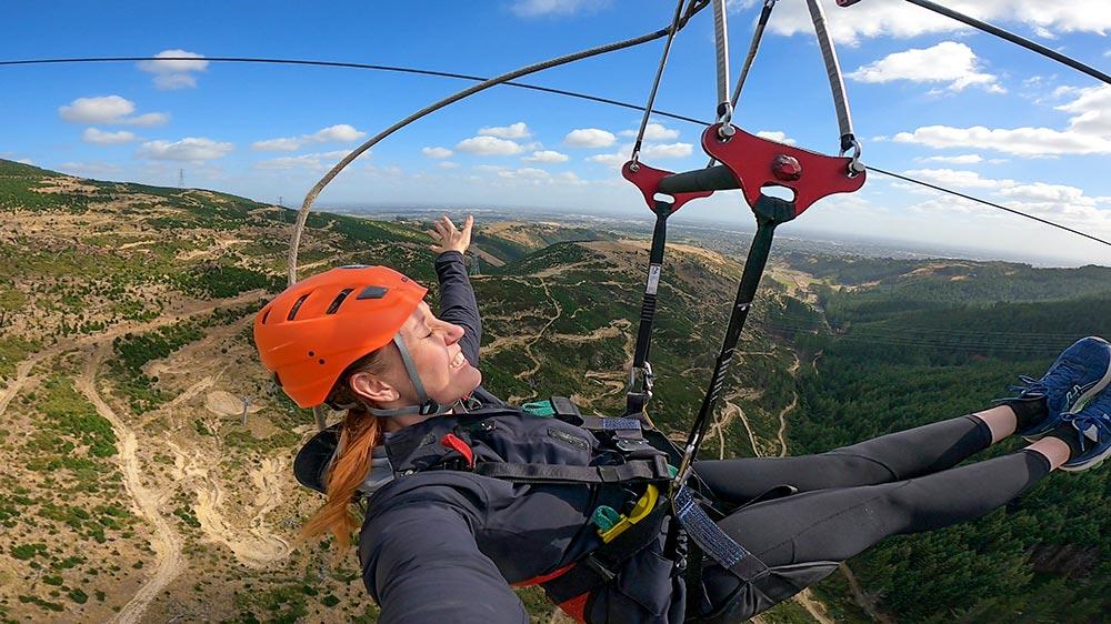 Christchurch Adventure Park, New Zealand - Longest Zipline in Oceania