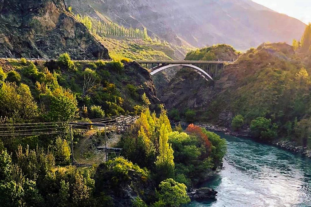 Kawarau Bridge Zipline in New Zealand