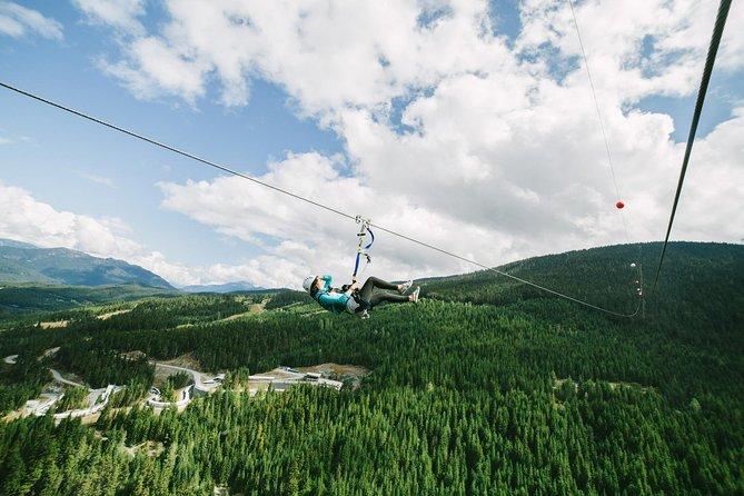 Sasquatch Zipline in Whistler