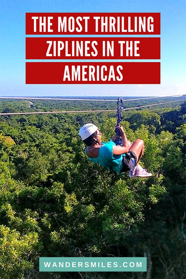 Discover the most thrilling ziplines in the Americas – Caribbean, Canada, USA, Central & South America