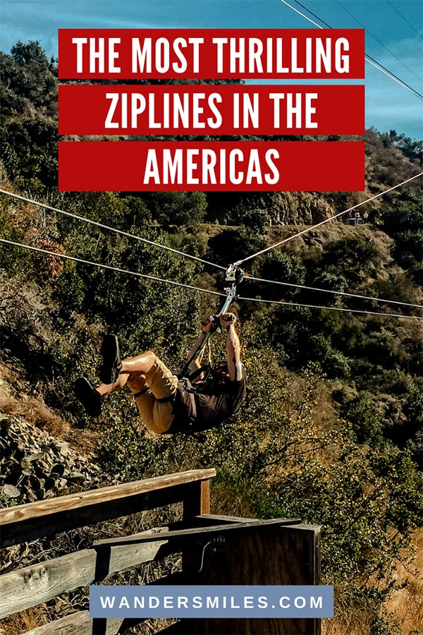 Discover the best and most thrilling ziplines in the Americas