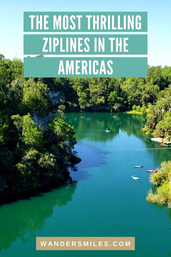 Find the most thrilling ziplines in the Americas