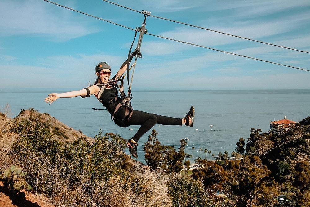 Catalina Island Zipline in California