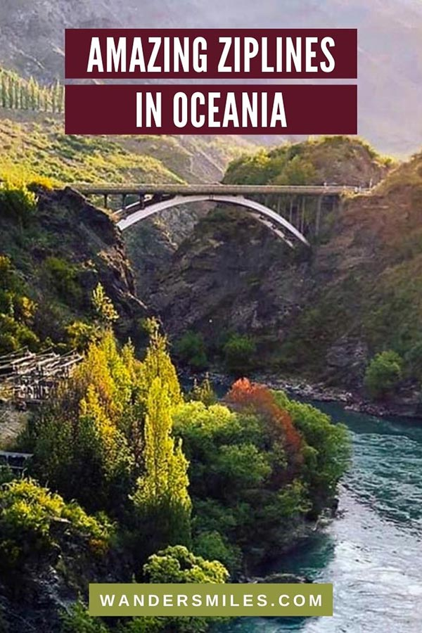 Discover the most amazing ziplines in Oceania – Fiji & New Zealand