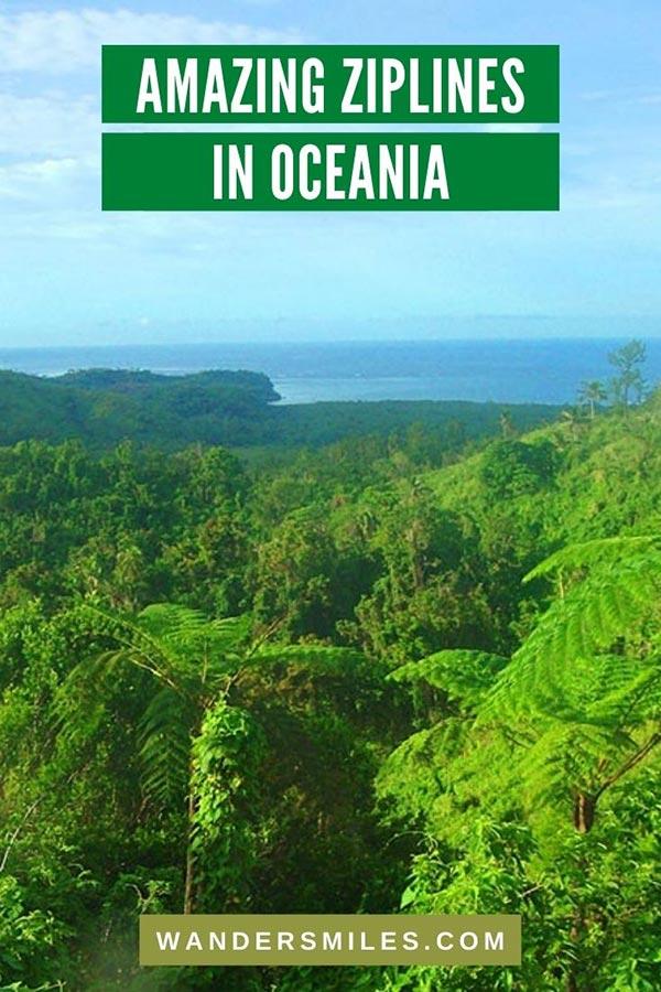 Find the most thrilling ziplines in Oceania – Fiji & New Zealand