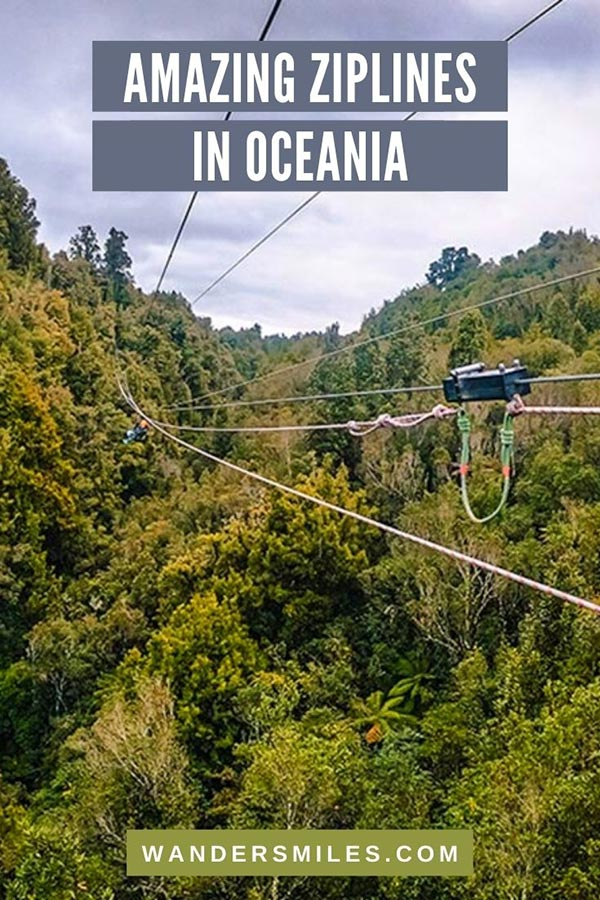 Discover the best and amazing ziplines in Oceania