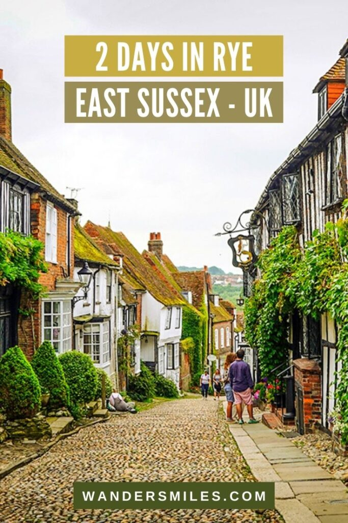 Discover Rye in 2 days, East Sussex, UK