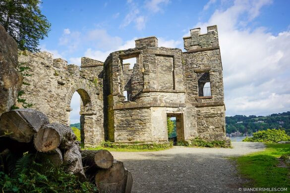 Victorian Claife Viewing Station, Windermere West Shore