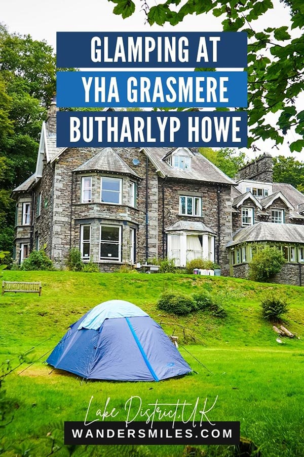 Hostel in Grasmere - Glamping at YHA Grasmere Butharlyp Howe, Lake District