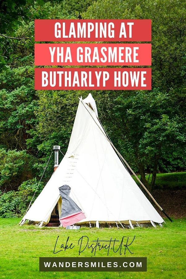 Amazing Glamping at YHA Grasmere Butharlyp Howe, Lake District