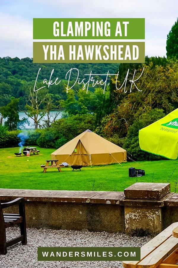 Bell Tent Glamping at YHA Hawkshead, Lake District