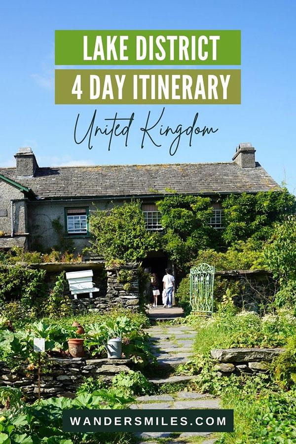 Amazing Lake District Itinerary 4 days - Best Lake District Itinerary 4 days - Hawkshead, Borrowdale & Grasmere