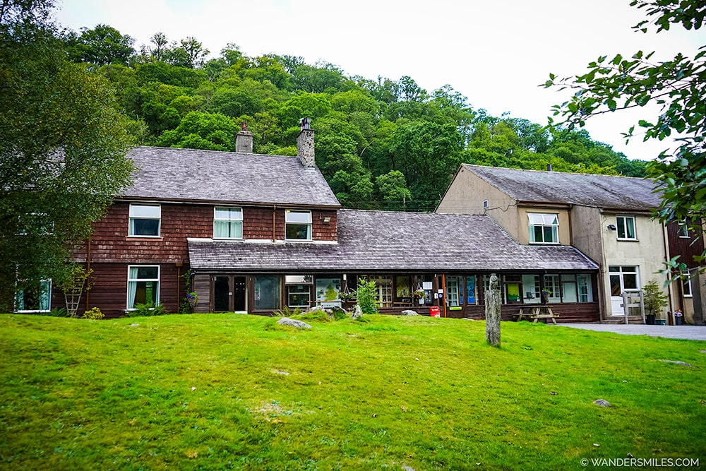 YHA Borrowdale hostel building