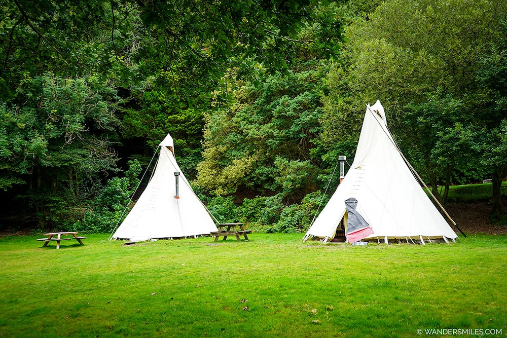 Glamping in Tipis at YHA Grasmere Butharlyp Howe