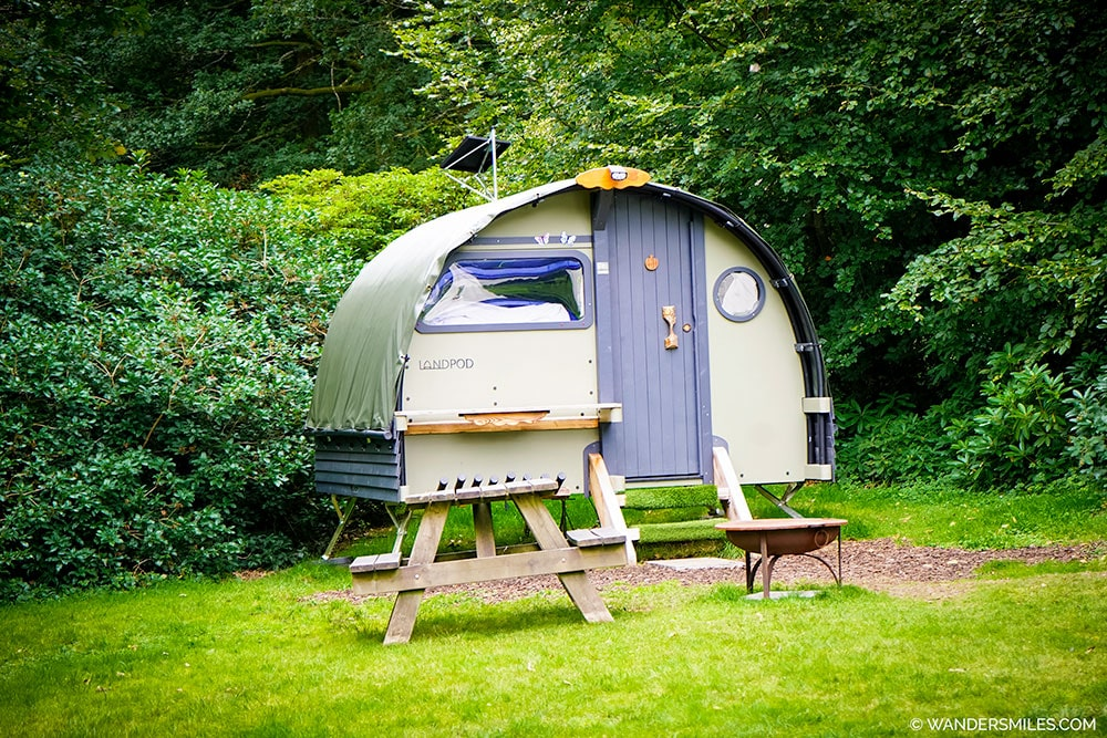 Landpod Glamping at YHA Grasmere Butharlyp Howe - Great place to stay on a 4 day Lake District trip