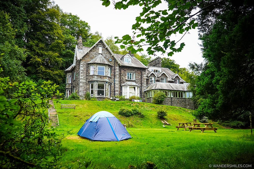 Victorian hostel and tent at Grasmere Butharlyp Howe